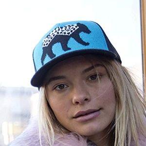 Pistil Ursa Bear Wool Blend Trucker Hat Snapback
